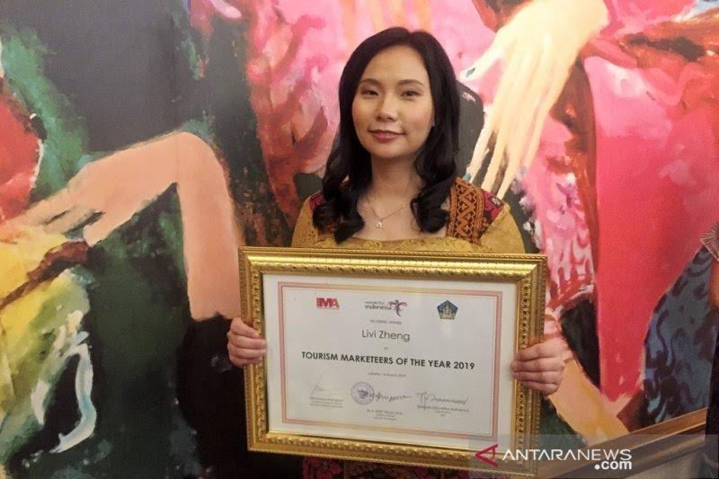 Livi Zheng ke Indonesia