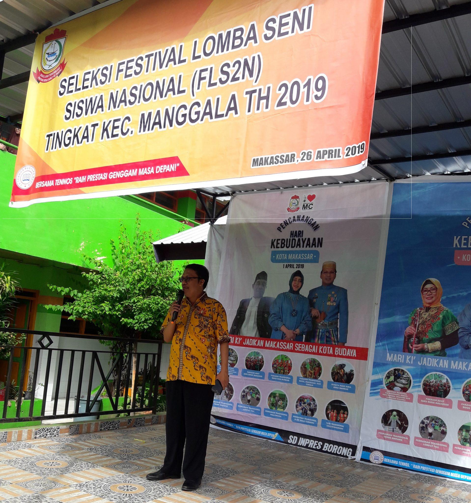 Seleksi FLS2N 2019 diikuti siswa SD se-Kecamatan Manggala