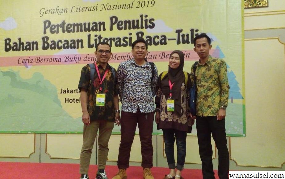 4 penulis Sulsel terpilih jadi penulis bahan bacaan literasi baca-tulis Kemendikbud 2019