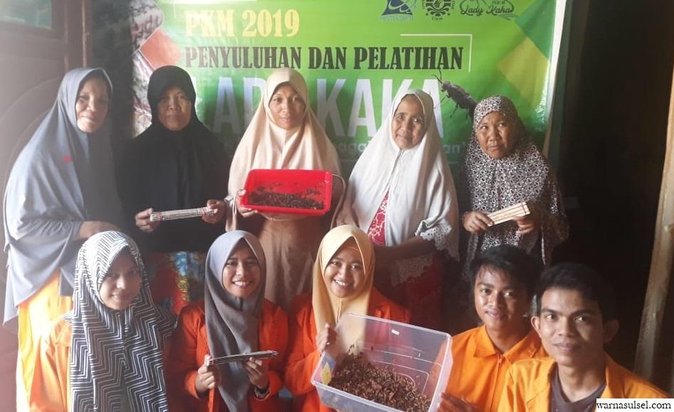 Lewat PKM, mahasiswa UNM ini libatkan kelompok Ibu di Gowa kurangi sampah organik