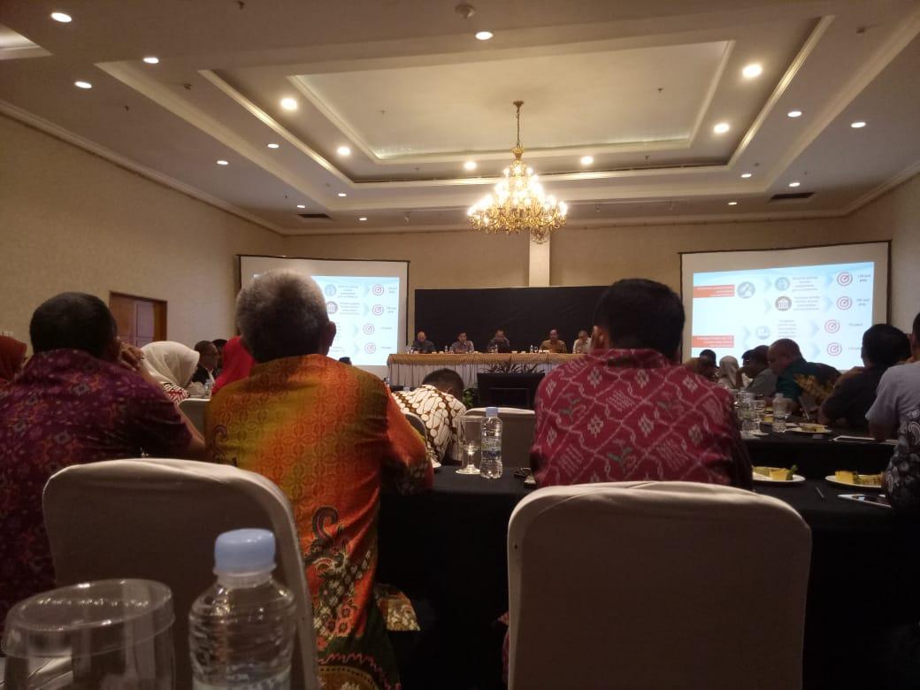Kementerian PPN/Bappenas, Kemendagri dan Perpusnas gelar FGD tim monitoring & evaluasi terpadu di Makassar