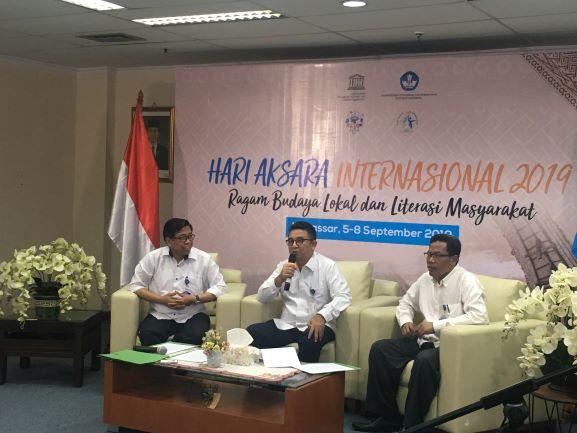 Tingkat buta aksara di Indonesia turun jadi 3,29 juta penduduk