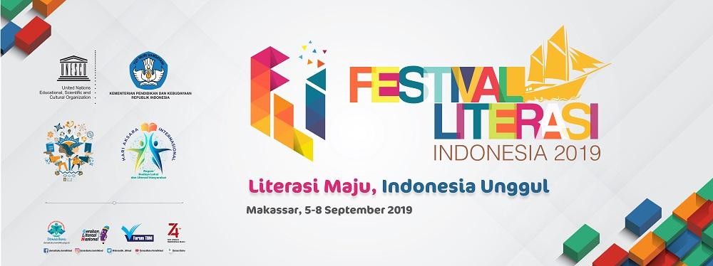 Festival Literasi Indonesia 2019 di Makassar