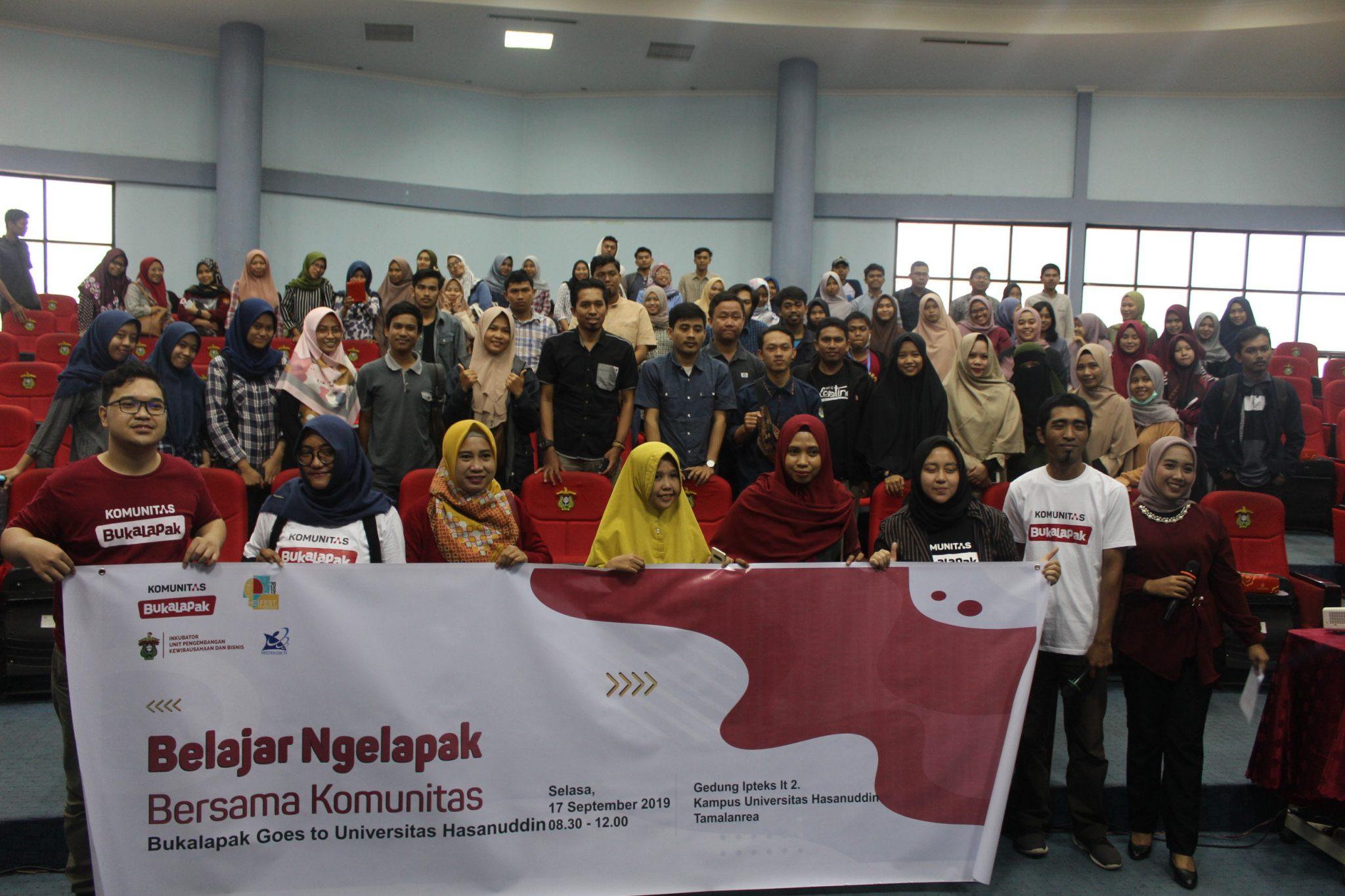 Inkubator UPKB Unhas gelar HEI fest 2019 gandeng bukalapak