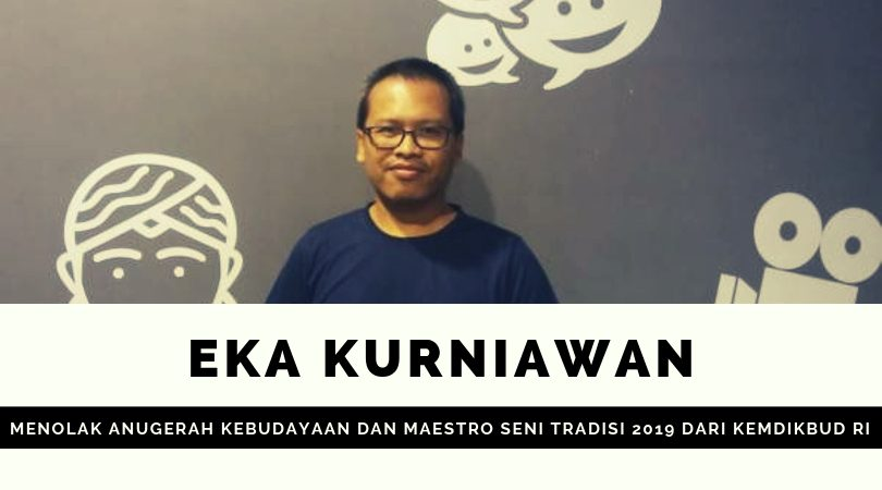 Eka Kurniawan pertanyakan komitmen negara terhadap kerja-kerja kebudayaan