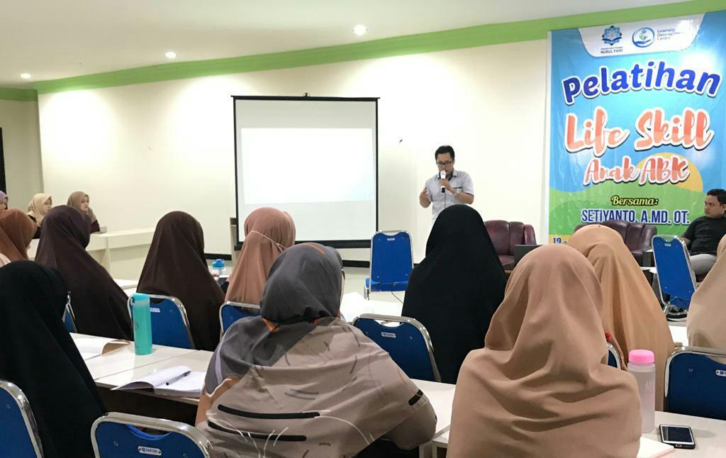 LDC SIT Nurul Fikri Makassar bekali life skill untuk ABK