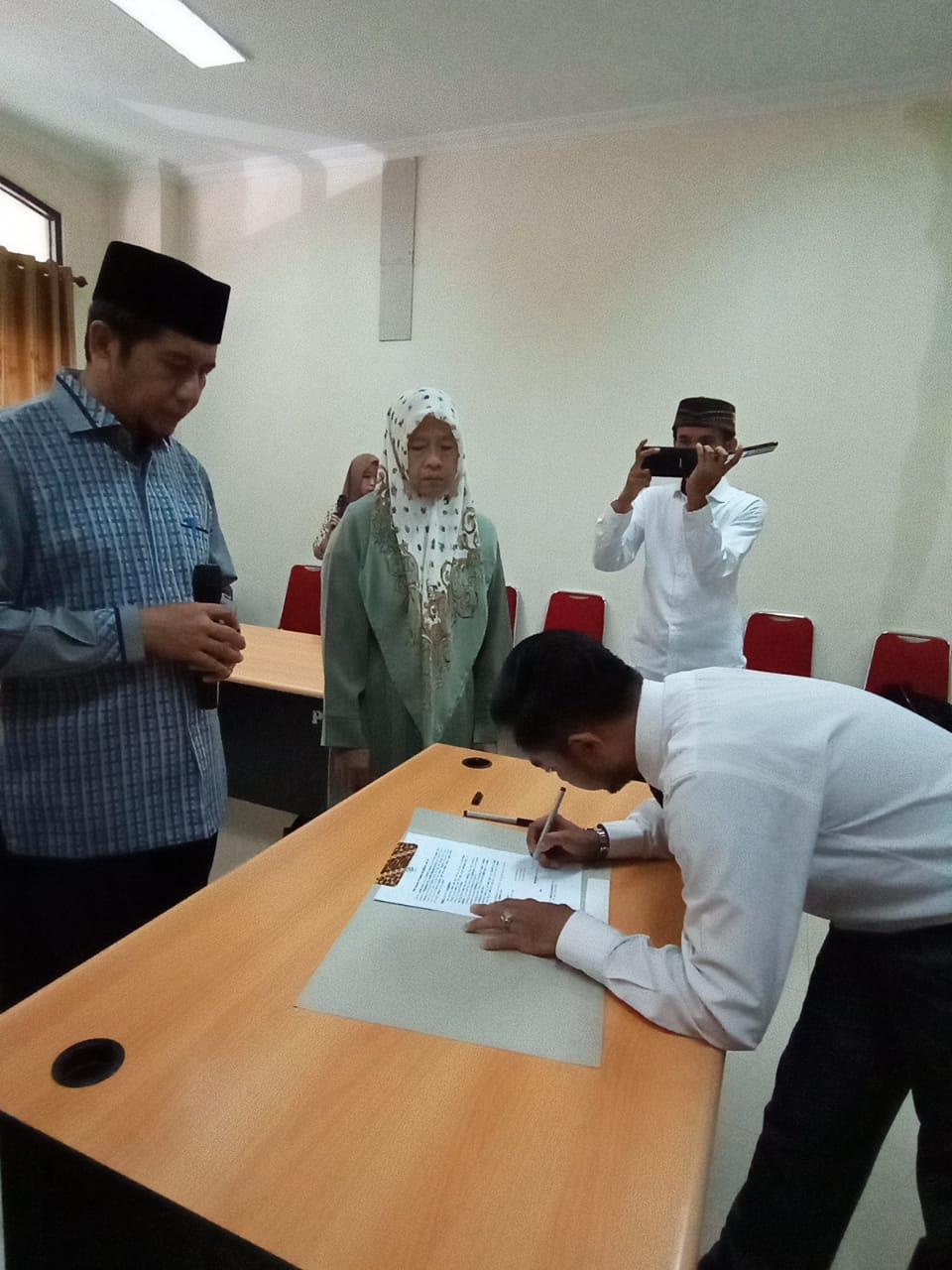 Pelantikan Himpunan Mahasiswa Program Studi Doktor Pascasarjana UIN Alauddin Makassar