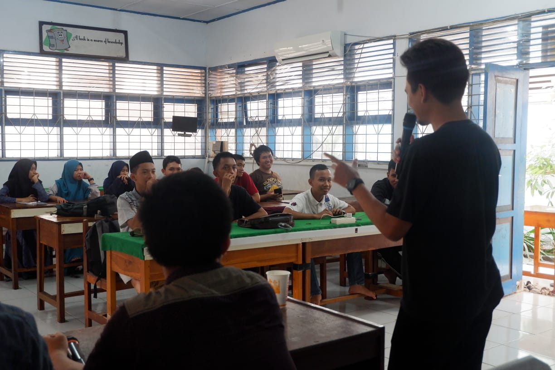 Pertemuan perdana Fokasi IT Pelajar Makassar