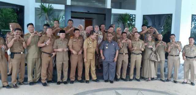 DPK Takalar mendapat kunjungan kerja dari DPK Prov Sulsel (Selasa, 28/1/2020) | Foto : Nazaruddin