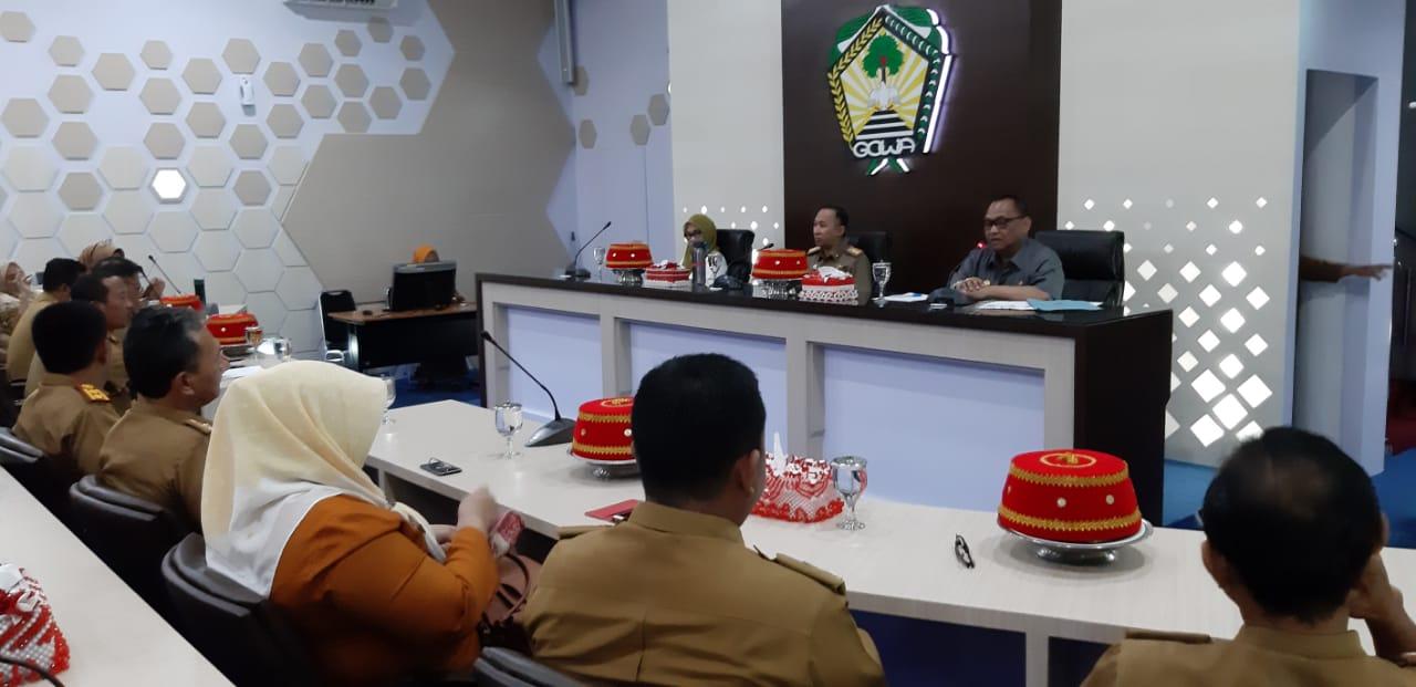 Kunjungan Kerja Kepala Dinas Perpustakaan dan Kearsipan Provinsi Sulsel beserta rombongan di Kabupaten Gowa