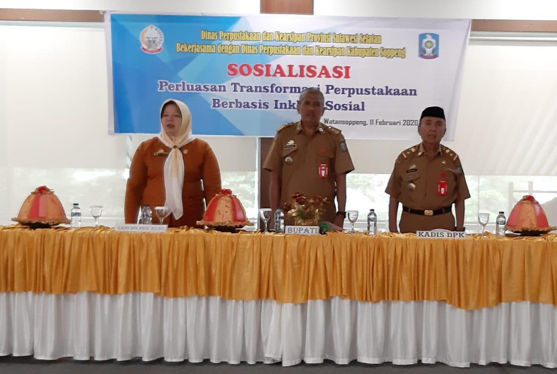 Bupati Soppeng:Literasi mempunyai peranan penting dalam mendorong kesejahteraan masyarakat