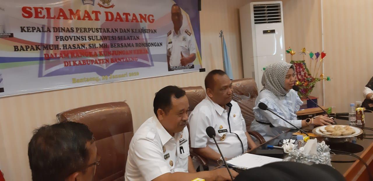 Kunker DPK Sulsel spirit baru pengembangan Perpustakaan di Bantaeng