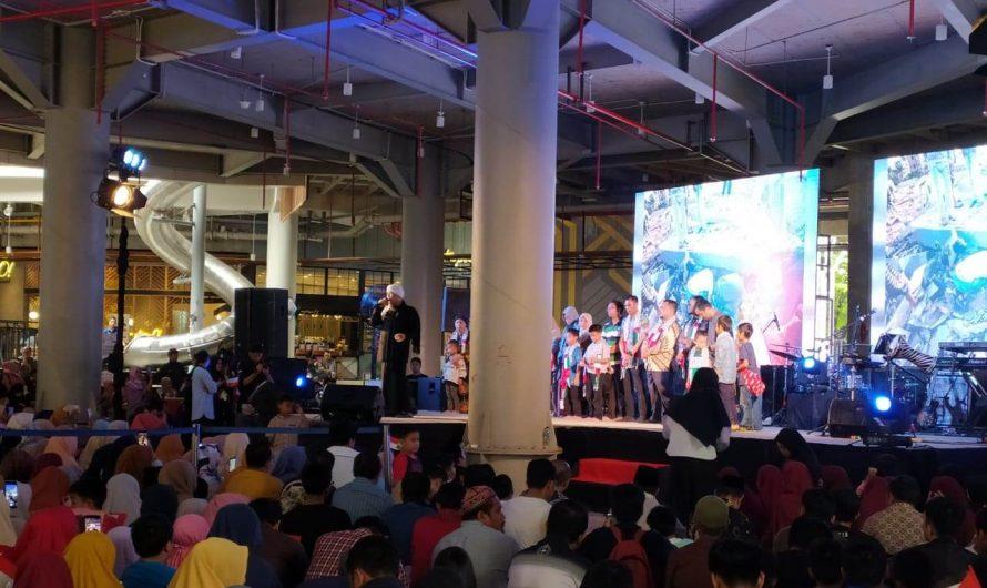 Milad SIT Nurul Fikri Makassar, Opick ajak masyarakat berdonasi peduli Palestina