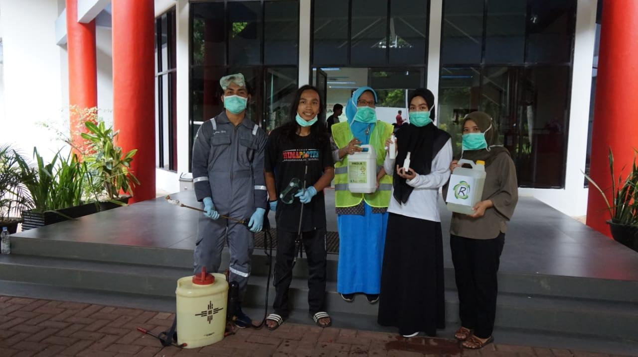 Cegah penularan Covid-19, start up binaan inkubator Unhas produksi disinfektan dan hand sanitizer