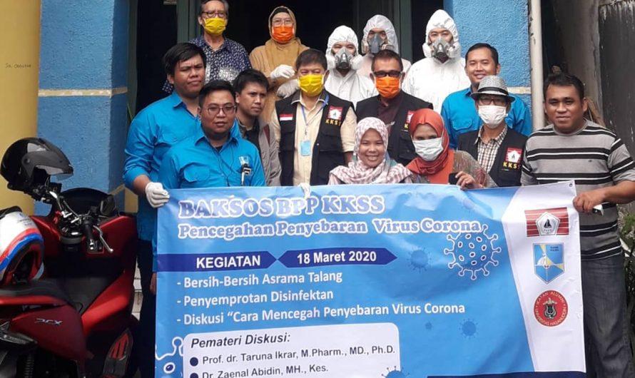 Cegah virus Corona, BPP KKSS dan PB IKAMI Sulsel gelar baksos