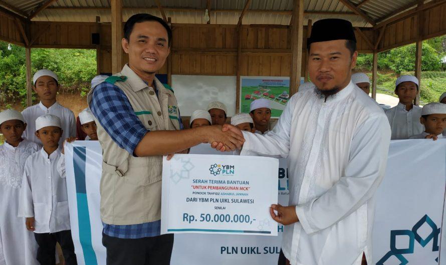 YBM PLN UIKL Sulawesi bangun MCK Pesantren Dhuafa