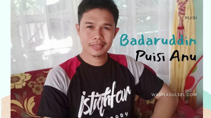 Badaruddin Puisi Anu