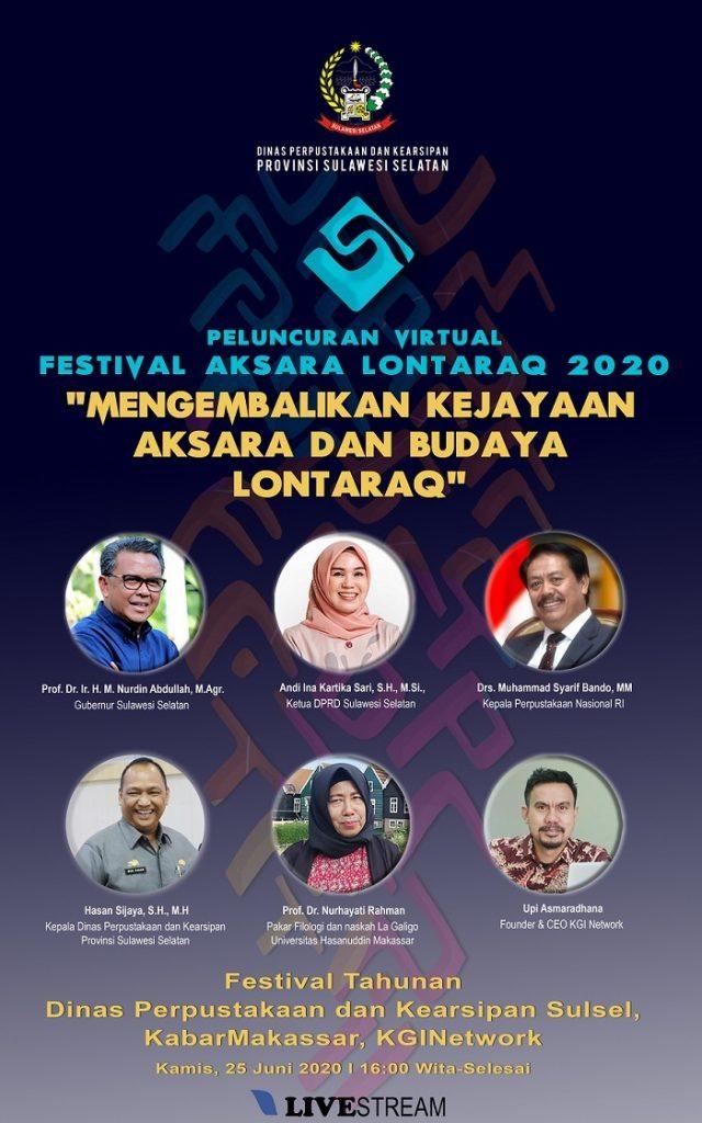 Festival Aksara Lontara 2020