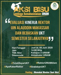 Poster Aksi Bisu