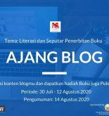 Ajang Nulis Blog RAKIT Gowa