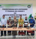 sinergitas dan komunikasi yang intens antara PT Pegadaian dan IAIN Manado